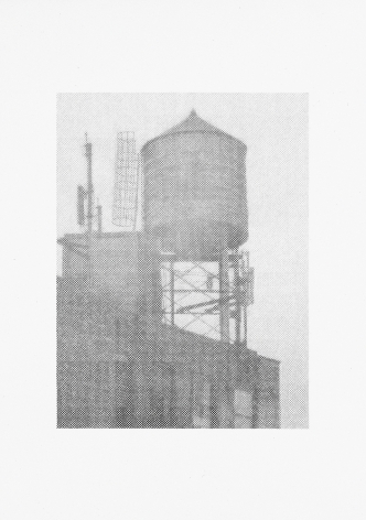 Ewan Gibbs, New York (water tower), 2016