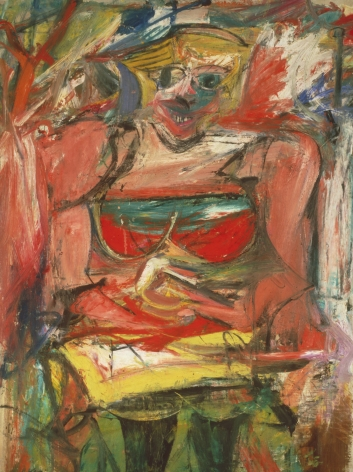 Willem de Kooning Woman V Oil on canvas