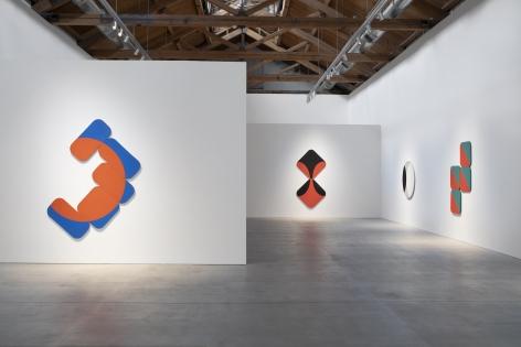 Installation view of Leon Polk Smith: Endless Space, 2019.