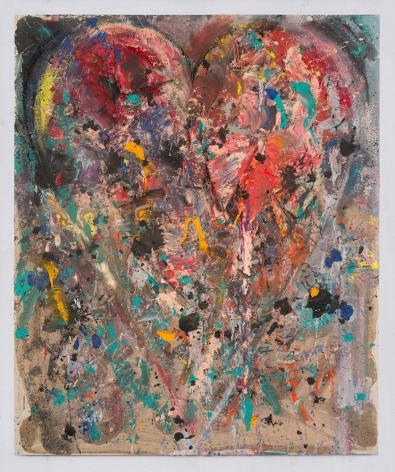 "Jim Dine, ""Roman night"" at La Coupole, 2018"