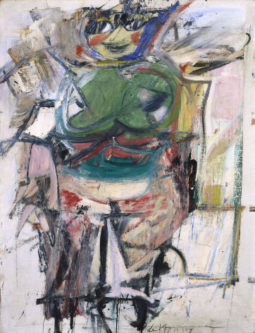 Willem de Kooning Woman (Green) Oil on canvas