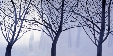 Winter Landscape 2, 2007, Oil on linen