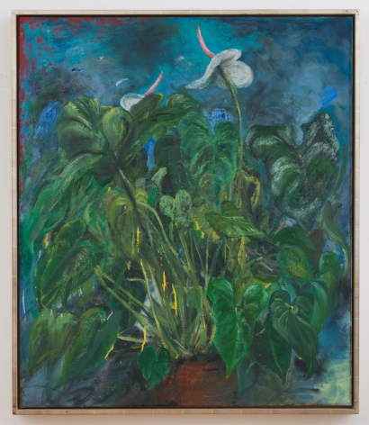 English January (2nd Version), 1992, Oil on canvas