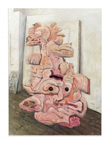 The Thing in My Studio, 1998-2008, Oil and tempera on linen