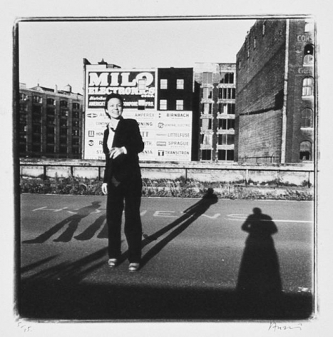 Laurie Anderson, New York, 1979