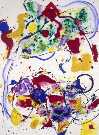 Sam Francis Untitled (SF-002433) Acrylic on canvas