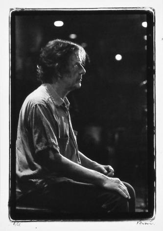 John Cage, Takanawa Museum, Karuizawa, 1981