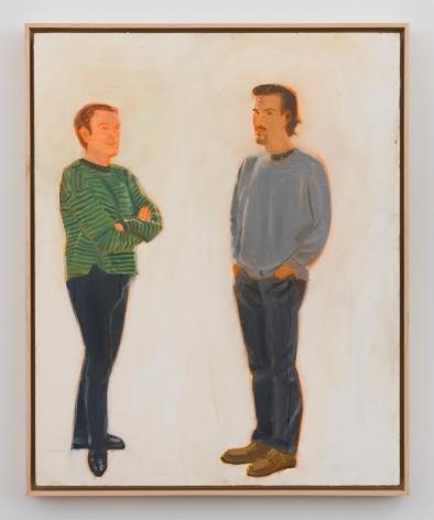 Alex Katz, Jack and Marcelo, 1993