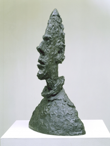 Alberto Giacometti Large Head of Diego Bronze