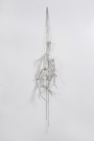 Untitled (Four Hanging Antlers), 2012