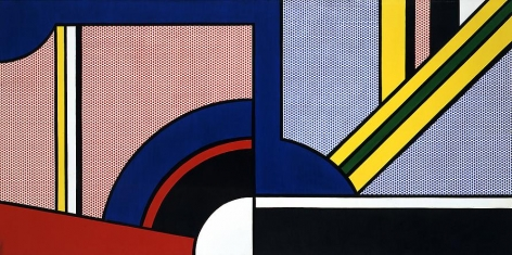Modern Painting with Division, 1967