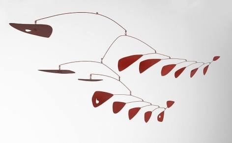 Sumac, 1955 Painted sheet metal and wire
