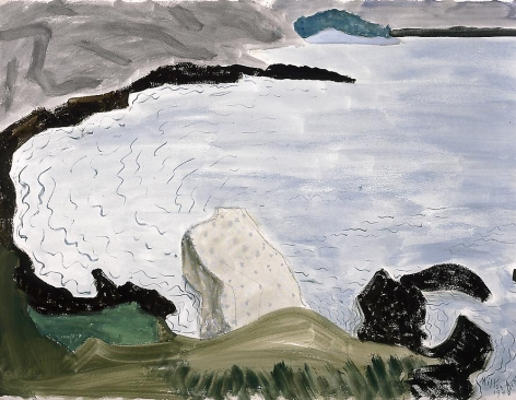 Milton Avery Quiet Bay, 1948