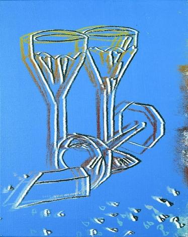 Champagne Glasses, 1982