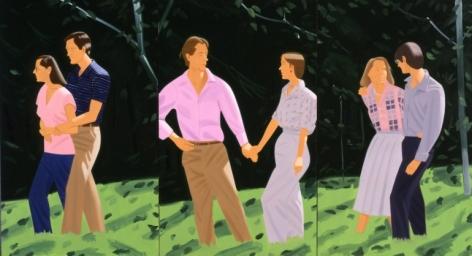 Alex Katz, Summer Triptych, 1985