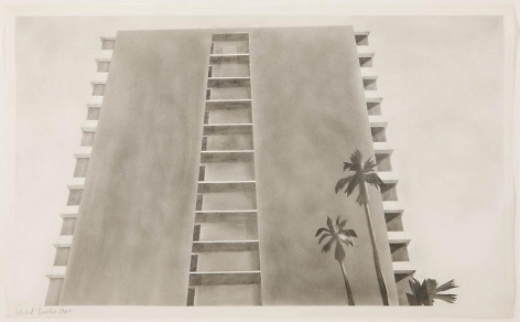 Apartment House: Doheny Drive, 1965