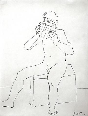 Pablo Picasso Joueur de flute de pan, 1923