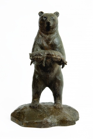 Malia Jensen Is This Your Cat? Patinated bronze