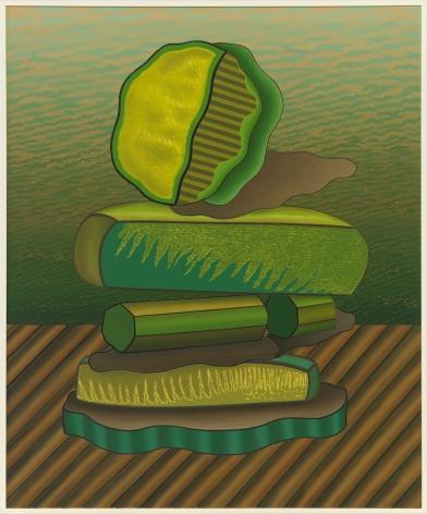 Balances Two, 1972, Oil on linen