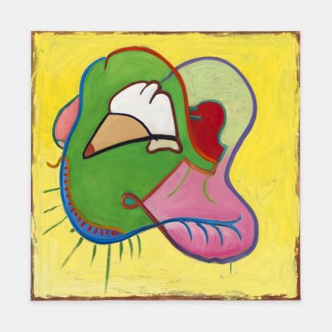 Lip Lobes, 1994, Oil on linen