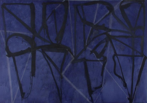 Blue Horizontal, 1987