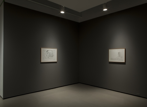 alex katz present tense richard gray drawings