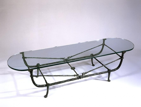 Table Berceau (second version), ca. 1970