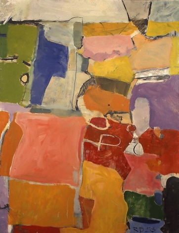 Urbana, 1953 Oil on canvas