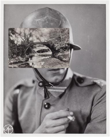 john stezaker mask film portrait collage 2013 collage richard gray