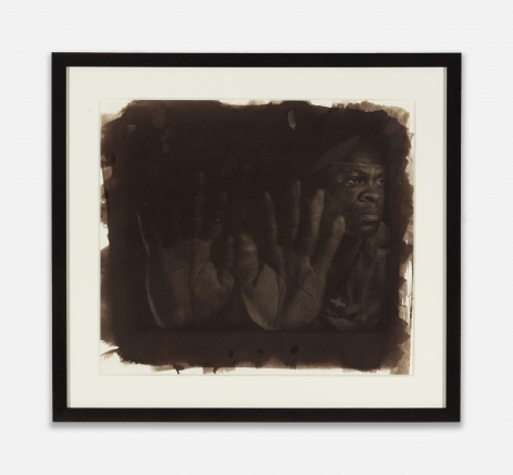 Rashid Johnson, Eugene (Seeing in the Dark Series), c. 1999