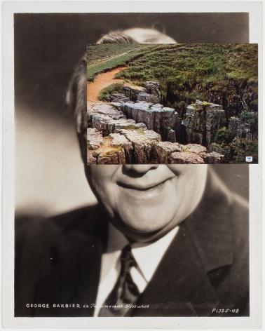 john stezaker mask film portrait collage 2014 richard gray