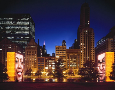 Crown Fountain, 2005