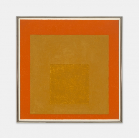 Josef Albers (1888 - 1976), Repeat of Study to: Dedicated (Homage to the Square), 1960