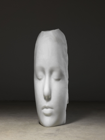 Jaume Plensa , Duna (White Head), 2018