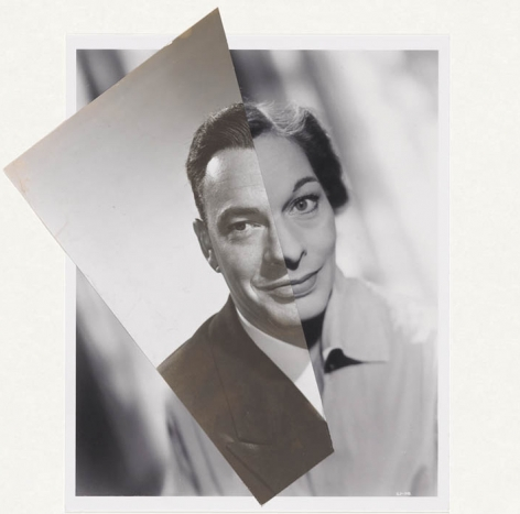 john stezaker marriage film portrait collage