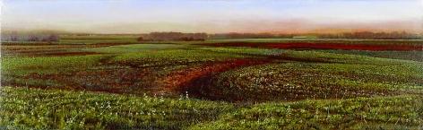 Culvert, 1991 Oil and acrylic on canvas