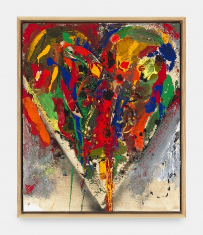 Jim Dine , Clear and sad, longer, 2018
