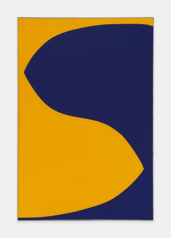 Leon Polk Smith, Cobalt Violet Deep - Yellow, 1960