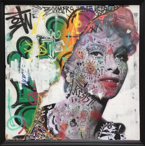Stikki Peaches, Galerie LeRoyer, Gina Lollobrigida