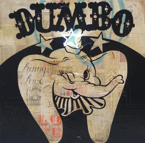 """Rock Therrien, """"Dumbo"""", Galerie LeRoyer"""