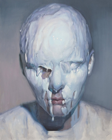 Ivan Alifan, Galerie LeRoyer, Marvel, huile sur toile, oil painting, Ceramic Skin
