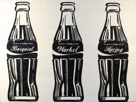 "Knowledge Bennett ""Coke Bottle (Share a Coke with...)"" Galerie LeRoyer, Galerie LeRoyer"