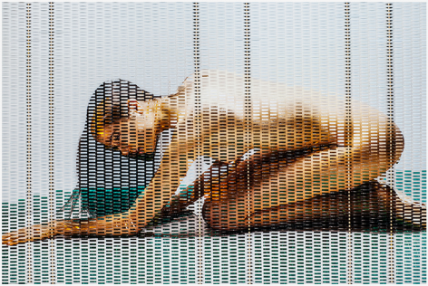 Martin Rondeau, Woven photography, photographie tressée, Galerie LeRoyer