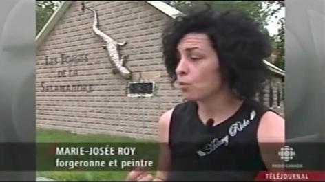 Marie-Josée Roy au Téléjournal de la SRC