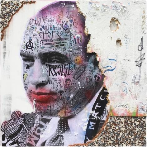 Stikki Peaches, Galerie LeRoyer, Al Capone, Capone Capo