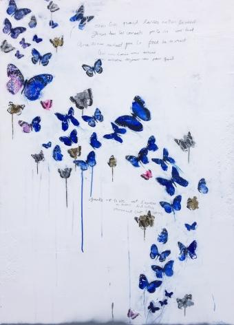 Galerie LeRoyer, Dominique Fortin, Les Fusées Patientes V