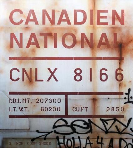 Tim Conlon, Galerie LeRoyer, Blank Canvas no.77 - CNLX