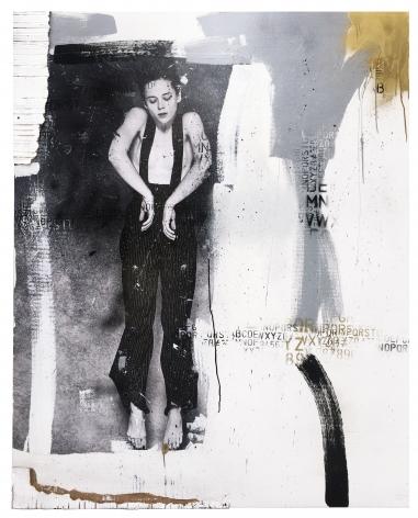Denis Dulude, Galerie LeRoyer, Denis Dulude Brontë, Mixed media on wood