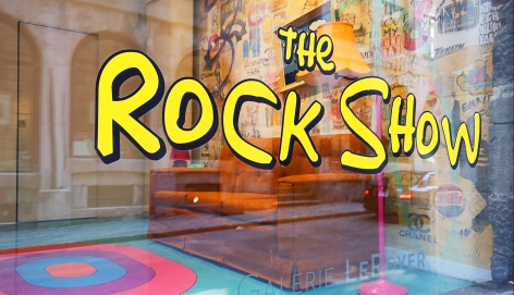 """The Rock Show"" L'Exposition Solo de Rock Therrien"