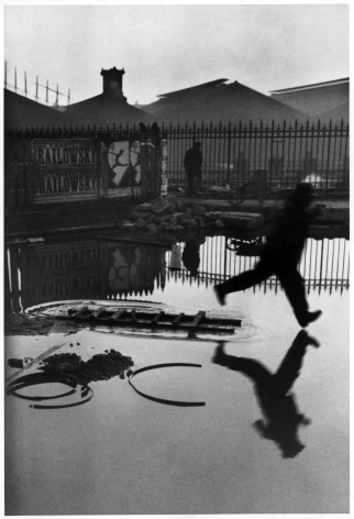 Behind the Gare Saint-Lazare, Paris, 1932, 11 x 14 Silver Gelatin Photograph